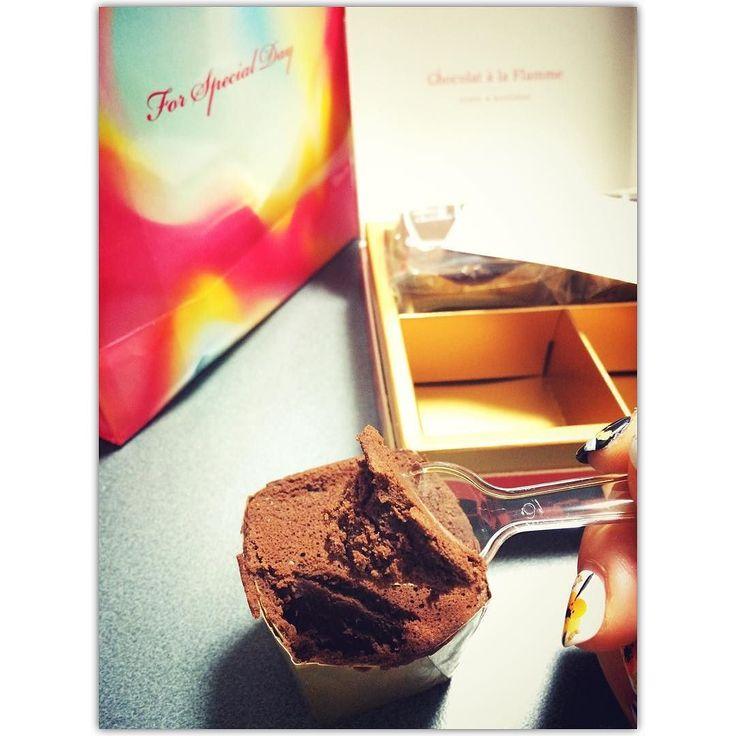 #chocolate #chocoholic #chocolategirl #chocolategifts #valentineday #炎のチョコレート #chocolateparadise by i.m.yohka