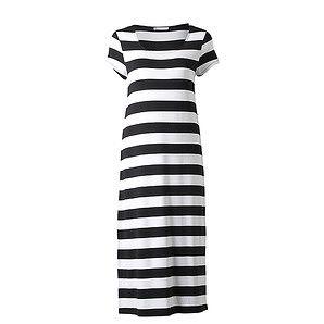 Midi Dress - Black Stripe   Target Australia ITEM CODE 55947725