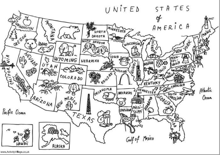 Coloriage carte usa                                                                                                                                                                                 Plus