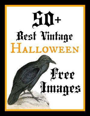 Best Free Vintage Halloween Images