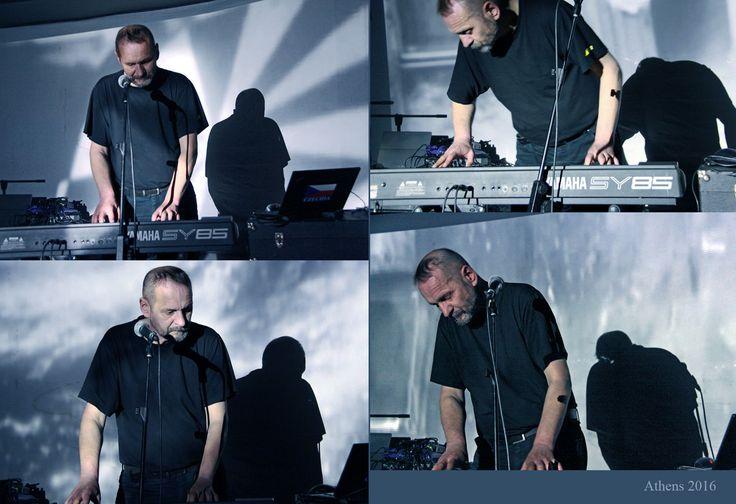 """Vladimír Hirsch at """"Tenebrae de Profundis"""" festival, Athens, 2016"""