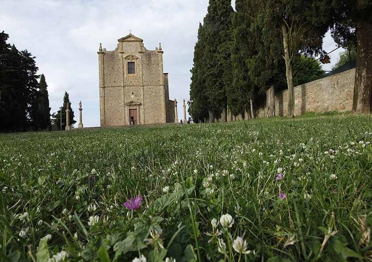 San Giusto Church - Volterra - Tuscany #volterra #volterratur