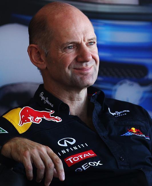 Adrian Newey - F1 Aerodynamic Engineer