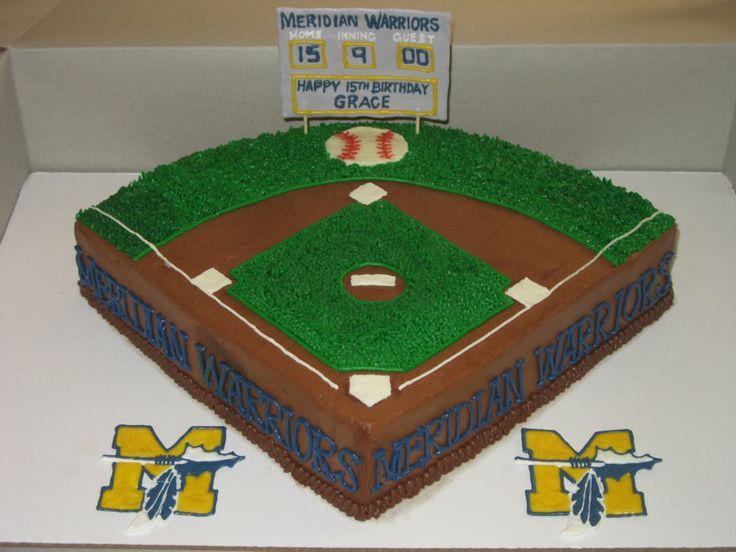 Softball Birthday Cakes | Tiers of Joy Cakery: Softball Birthday Cake - Apr. 2011