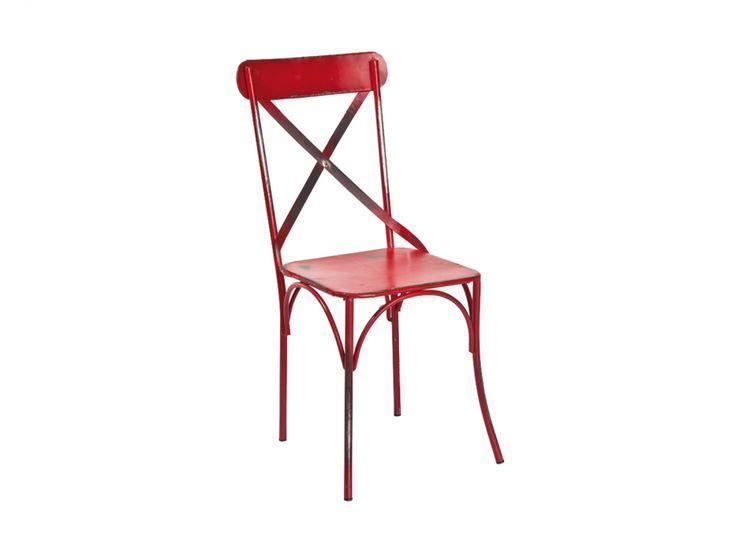 BISTRO Stol 2-pack Röd i gruppen Inomhus / Stolar / Matstolar hos Furniturebox (100-52-84708)