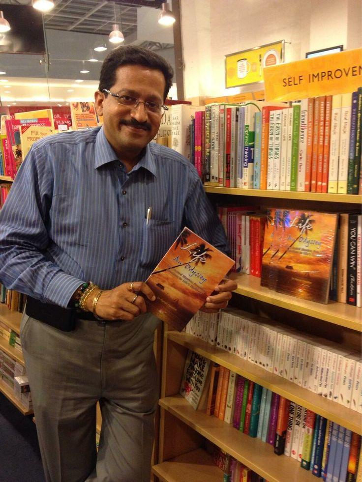 #Lifeanodyssey glad to see my book at Crossword. Oberoi mall , Goregaon , Mumbai
