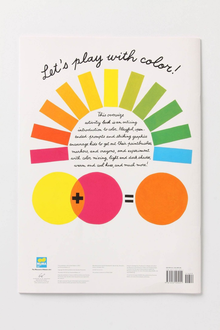 The color-play coloring book moma - Moma S The Color Play Coloring Book
