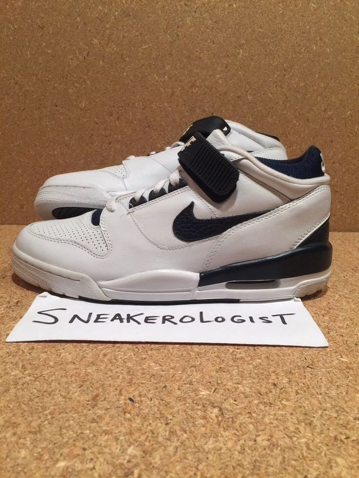 SAMPLE NIKE AIR REVOLUTION MID SZ 9 white obsidian strap