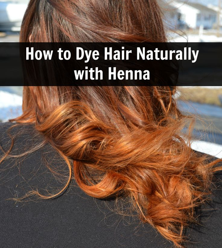 how to dye hair naturally with henna