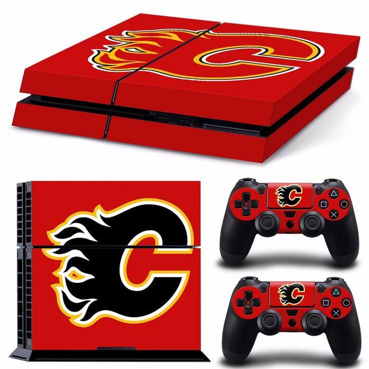 Calgary Flames NHL PS4 Skin