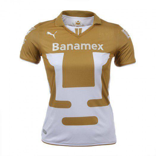 Apoya a los Pumas de la UNAM con el nuevo jersey local de Puma que cuenta con la tecnología DryCell para mantenerte fresco y seco.