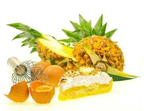Ananas-Kokos-Makronen