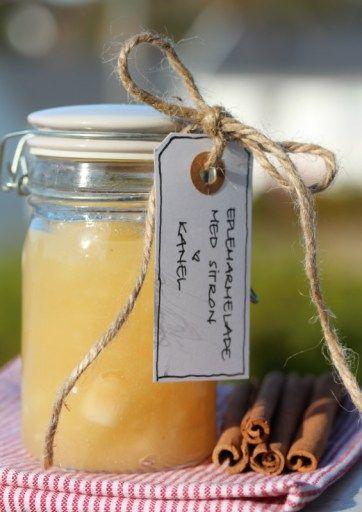 Eplemarmelade med sitron og kanel 3