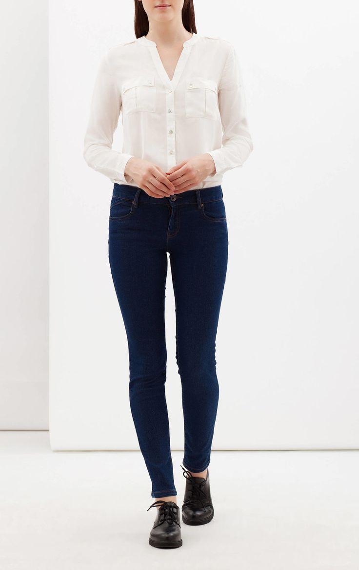 Jeans stretch skinny fit, Lavaggio scuro