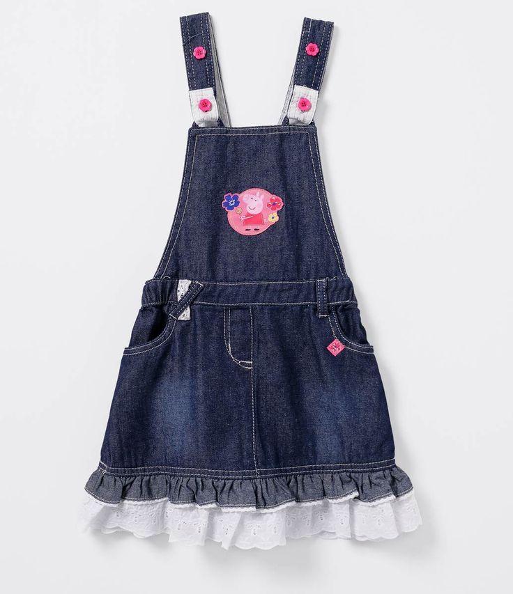 Mais de 1000 ideias sobre jardineira jeans infantil no for Jardineira jeans infantil c a
