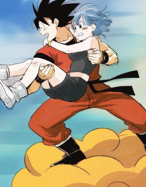 74 best images about goku y bulma on pinterest son goku dragon ball and community service - Goku e bulma a letto ...