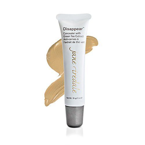 Jane Iredale Disappear Concealer with Green Tea Extract, Light  Price : $30.00 http://www.contouryourskin.com/Jane-Iredale-Disappear-Concealer-Extract/dp/B001TBI3X0