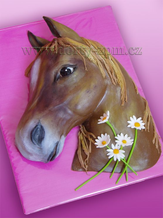 horse head cake ( the God-Father movie just popped into my head )
