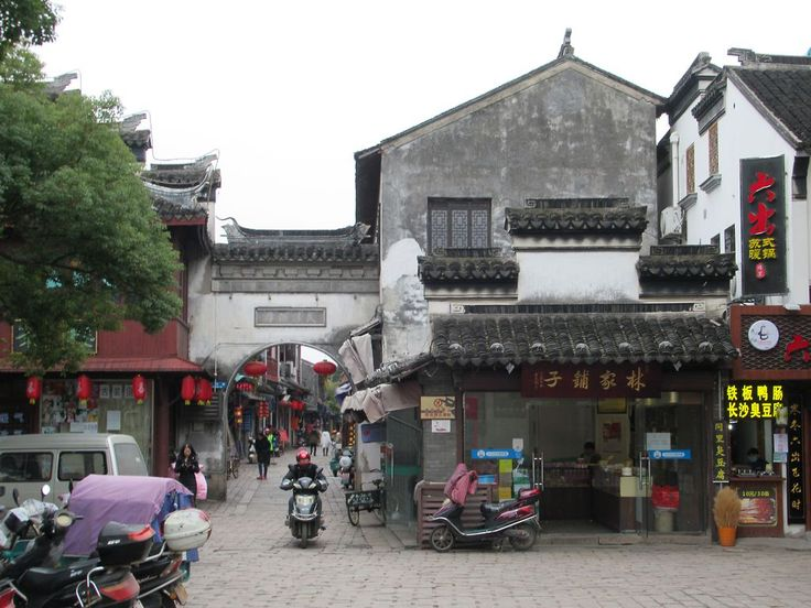 The old town of Tongli, southeast of Suzhou, China, has been preserved as it was centuries ago.