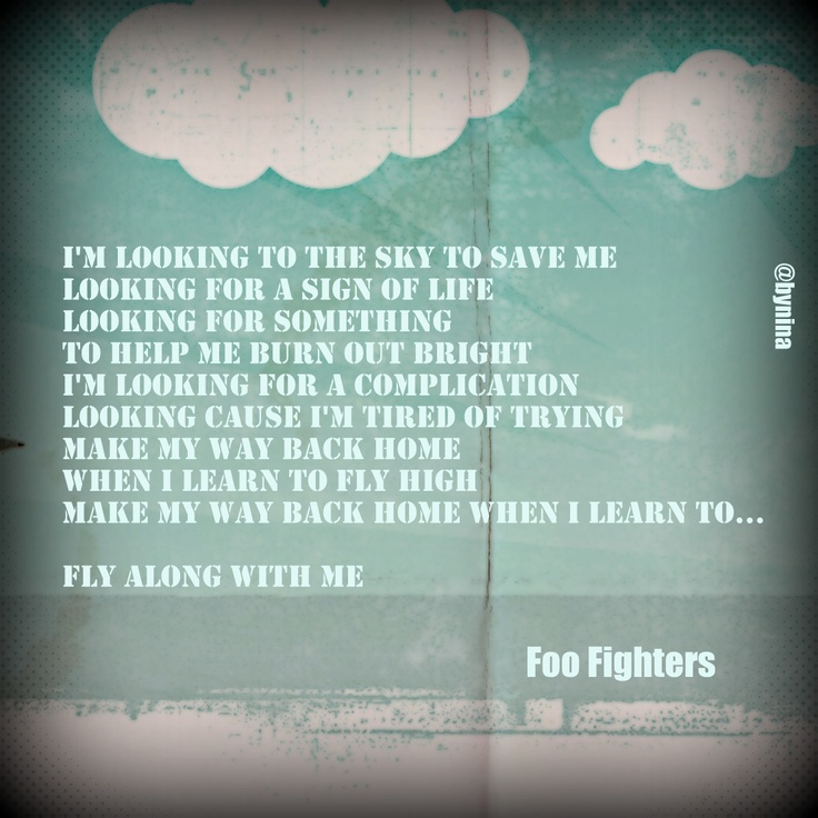 Back And Forth lyrics by Foo Fighters - original song full ...