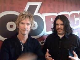 Duff McKagan and Mike Squires