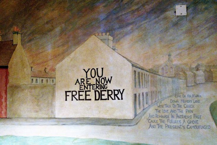 Free Derry, Bogside, Derry, Northern Ireland