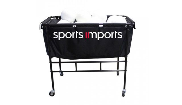 The Big Ball Cart By Sports Imports Volleyball Equipment Sports Professional Volleyball