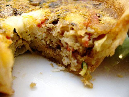 Veggie and Spicy Sausage Quiche   My Recipe Ideas -- BALANCE   Pinter ...