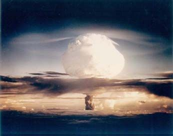 """Mike"" Enewetak Atoll 1952 This single blast exceeded the explosive power of all the weapons used in WW I and WW II"