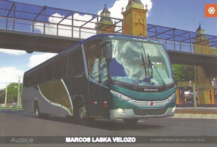 ÔNIBUSLÂNDIA: Modelo de Ônibus e Mini-Ônibus Rodoviário Audace d...
