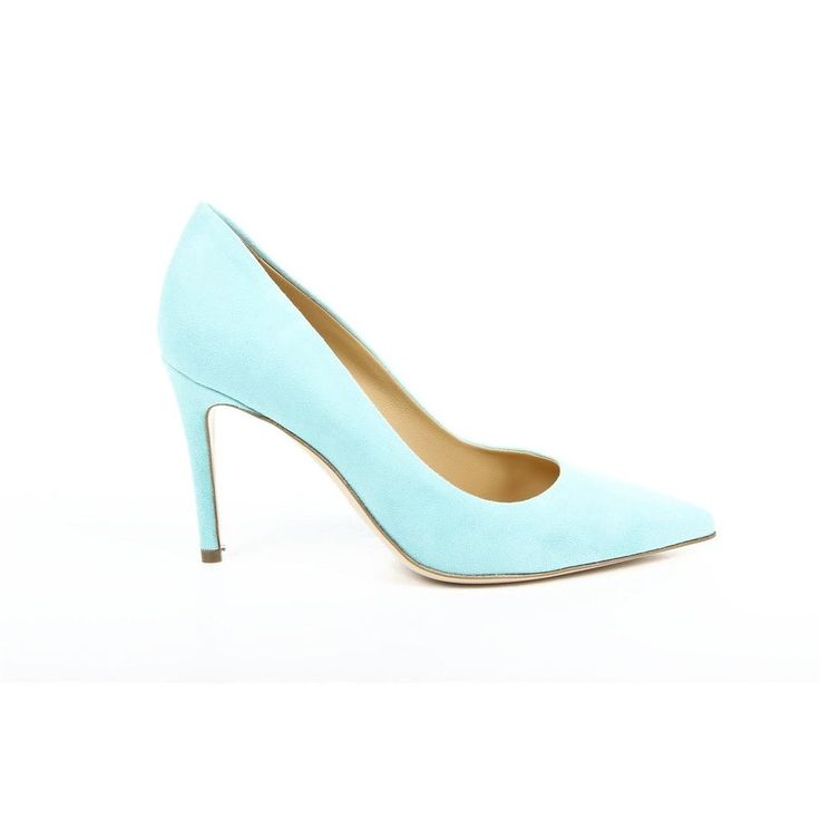 Light Blue 35 IT - 5 US Versace 19.69 Abbigliamento Sportivo Milano ladies pump 29203 CAMOSCIO LAGO