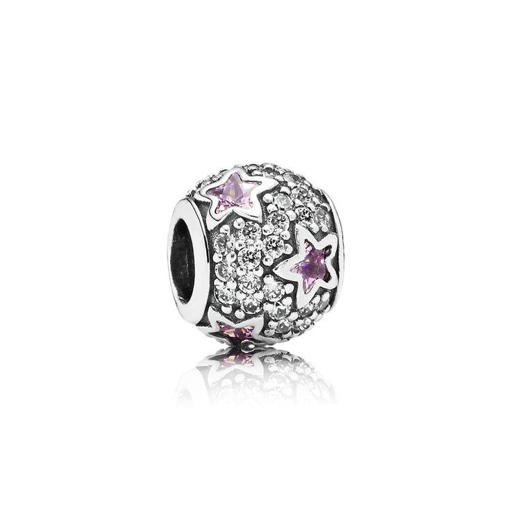 Roze sterren charm - Pandora NL   PANDORA eSTORE € 69,-