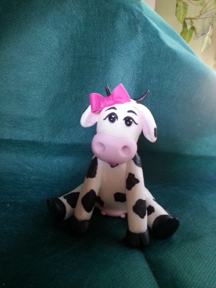 Vaca LOLA- Porcelana fria