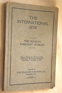 """It's funny who our American heroes really were. Take auto-industry giant, Henry Ford, who wrote The International Jew, a book in which he describes how he thought the Jews were plotting to take over the world. Pre-Hitler, by the way. States another history buff pinner, """"At the Nuremberg Trials, Baldur von Schirach mentioned that The International Jew made a deep impression on him and his friends in their youth and influenced them in becoming antisemitic..."""""""