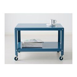 Printer storage option IKEA PS 2012 Coffee table - dark turquoise - IKEA