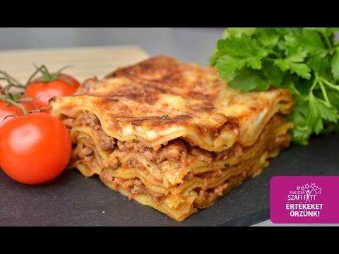 Extra diétás gluténmentes lasagne és házi tészta recept (szénhidrát csökkentett, paleo) ~ Éhezésmentes Karcsúság Szafival