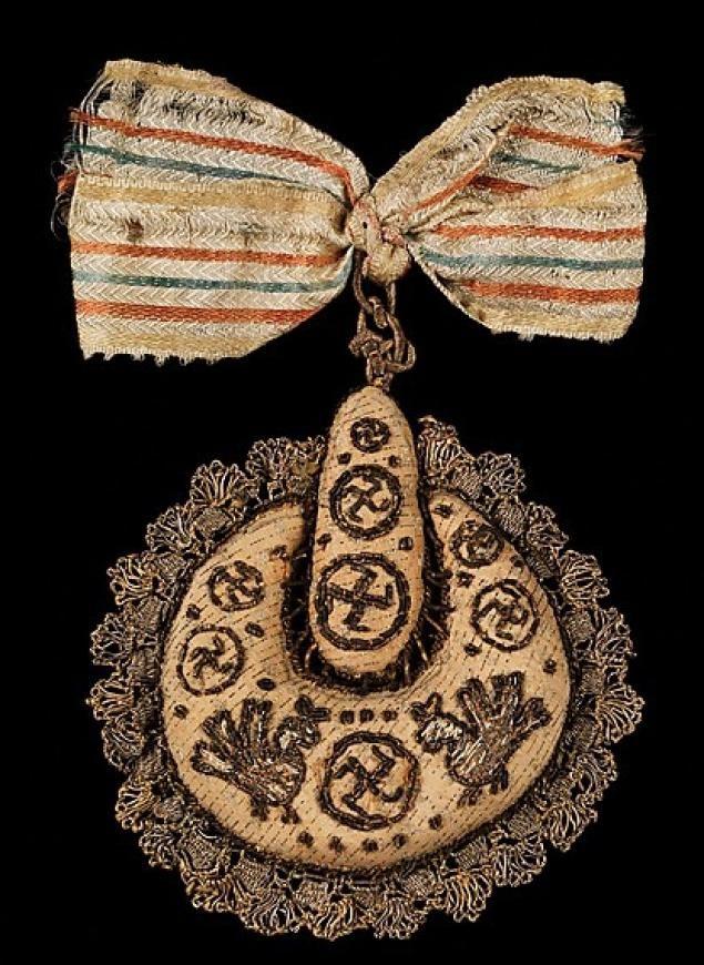 Накосник.1830-1880 г. из коллекции Натальи  Шабельской (1841-1905)
