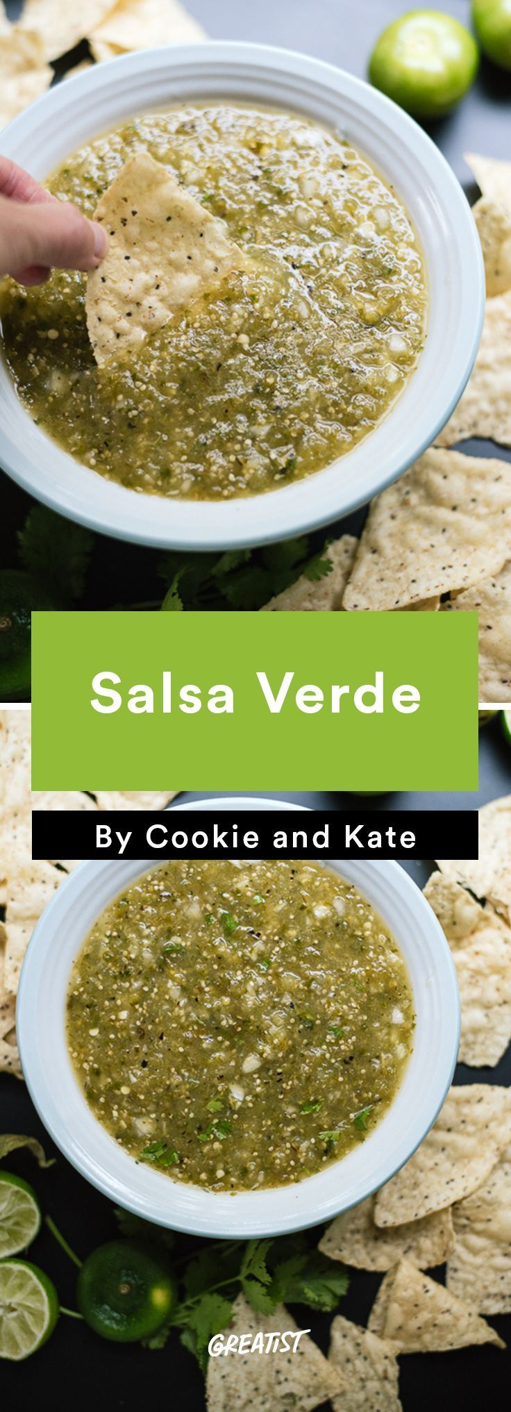 7. Salsa Verde #healthy #gameday #recipes http://greatist.com/eat/game-day-recipes-that-wont-leave-you-in-a-food-coma