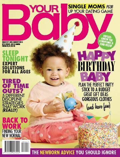 July/August 2015 issue of Your Baby