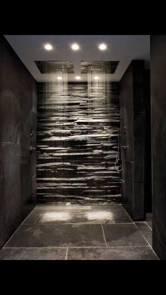 M s de 25 ideas incre bles sobre ducha de travertino en for Douche italienne grise