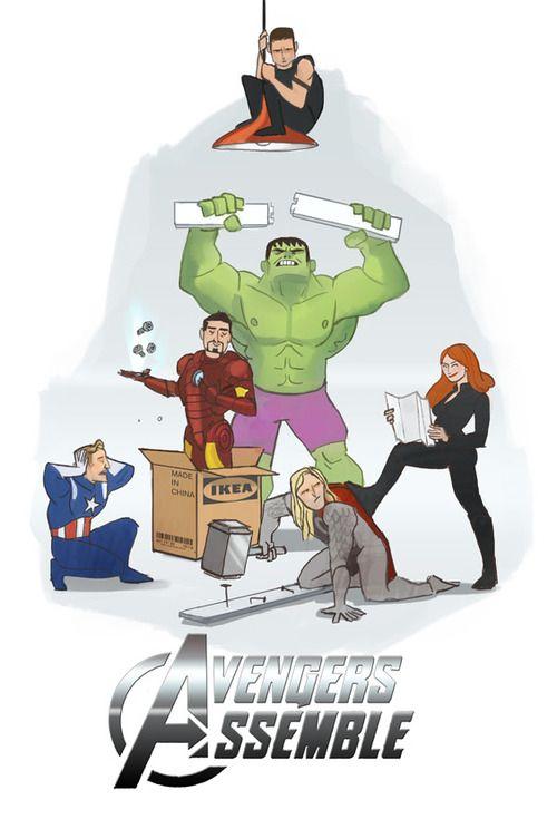 The Avengers assemble.