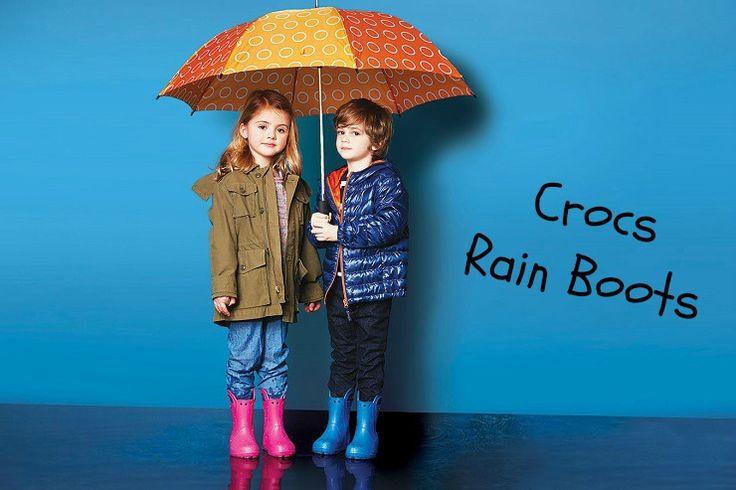 Crocs Rain Boots Kids!!