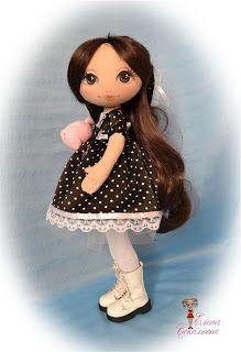 Душа тряпичную куклу: мои куклы-девочки