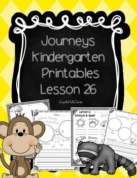 I created this set of supplementary printables to use while I am teaching lesson 26 of the Kindergarten Journeys reading series. We use the 2011 version of Journeys. This set includes whole group activities, independent practice, and a small group emergent reader. *These materials were prepared by a teacher in Missouri, and have neither been developed, reviewed, nor endorsed by Houghton Mifflin Harcourt Publishing Company, publisher of the original work on which this material is based.