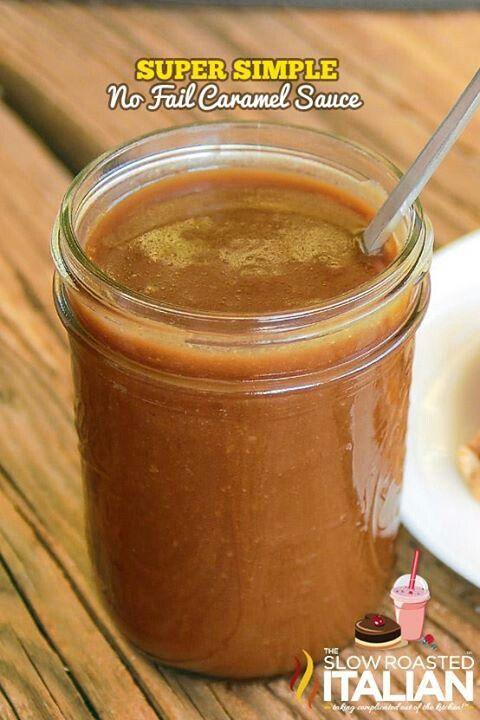 Super simple caramel sauce! | Recipes! | Pinterest