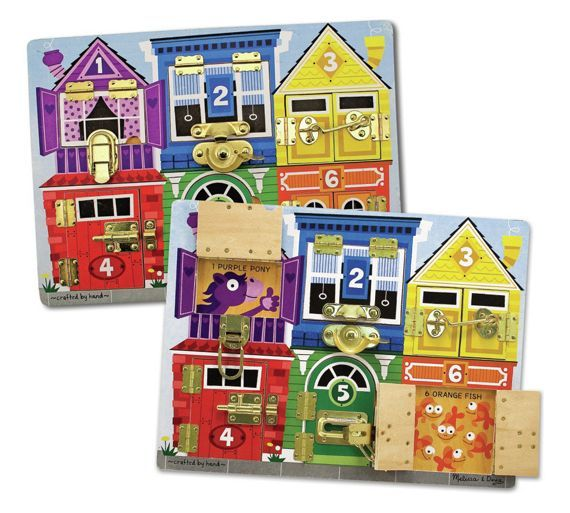 Buy Melissa and Doug Latches Board at Argos.co.uk, visit Argos.co.uk to shop online for School learning toys, Creative and science toys, Toys