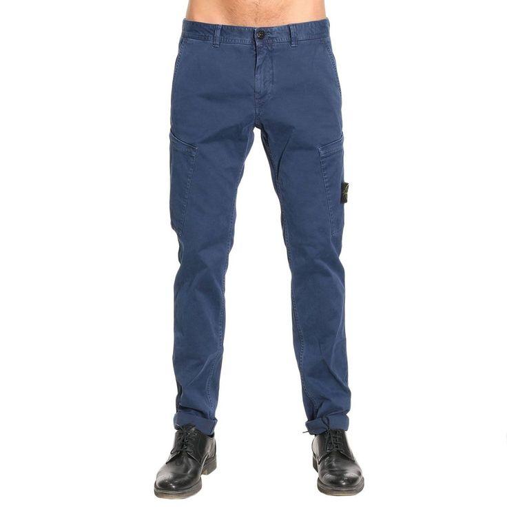 STONE ISLAND PANTS PANTS MEN STONE ISLAND. #stoneisland #cloth #
