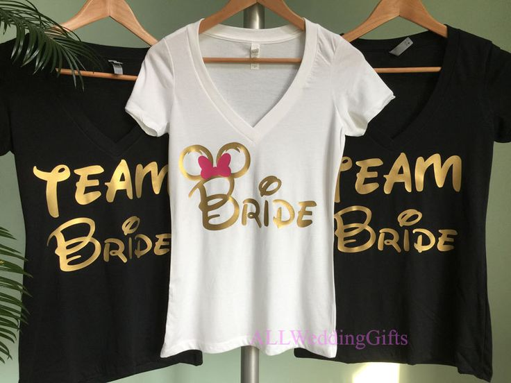 Disney Bride Shirt, Disney Bachelorette Party, Disney Bridesmaid Shirts, Disney Team Bride Shirts, Disney Bachelorette Weekend by ALLWeddingGifts on Etsy