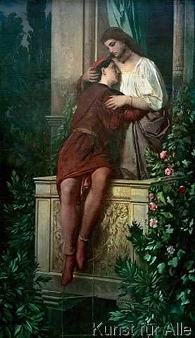 Anselm Feuerbach - Romeo und Julia