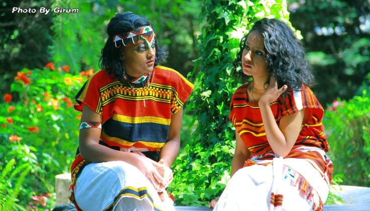 Beautiful Oromo women, culture and fashion, Oromia, East Africa